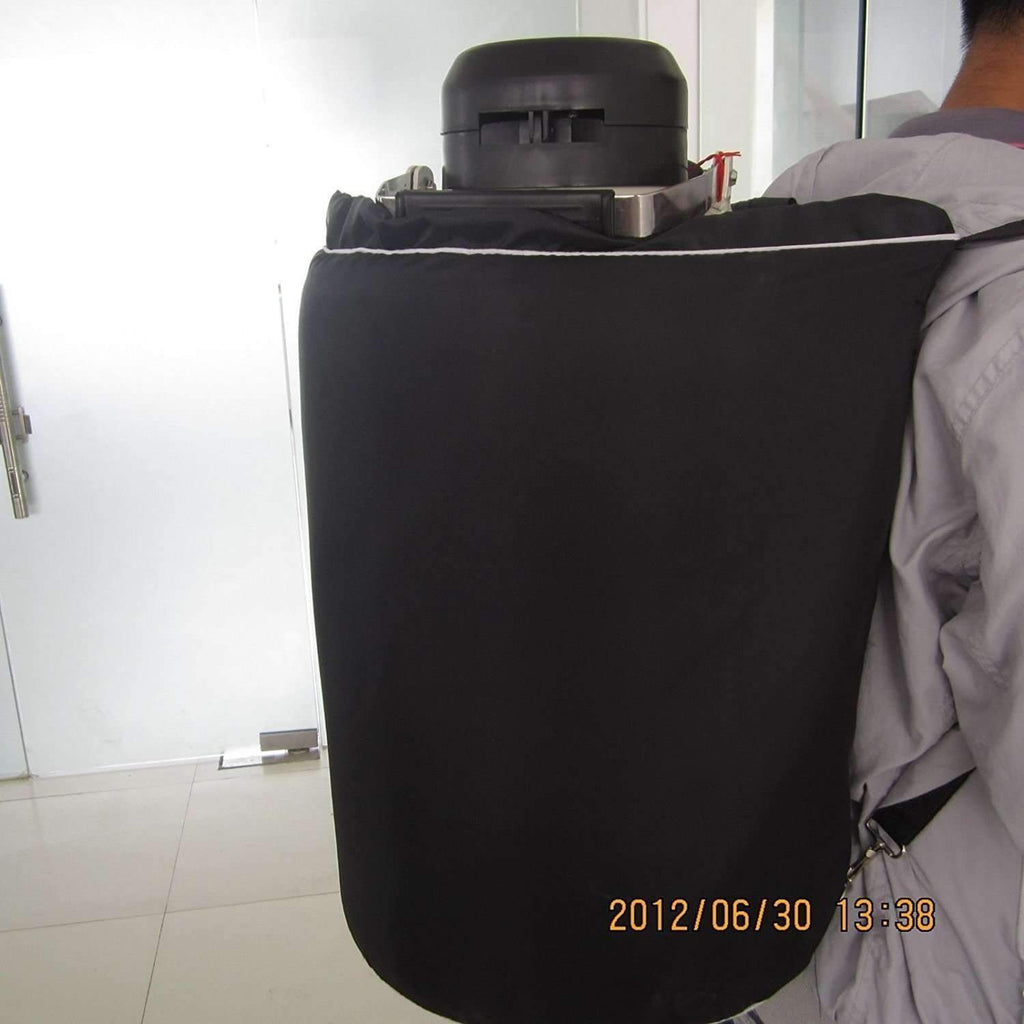 30L Cryogenic Container Liquid Nitrogen LN2 Tank with Straps and Carry Bag,,KeeboVet Veterinary Ultrasound Equipment,KeeboVet Veterinary Ultrasound Equipment.