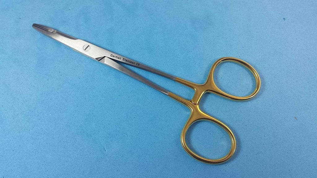 "3 Olsen Hegar Needle Holders with Scissors 4 3/4"", 5 1/2"", 6 1/2"" Tungsten Carbide Inserts German Stainless CE Delicate Veterinary Spay Pack,,KeeboVet Veterinary Ultrasound Equipment,KeeboVet Veterinary Ultrasound Equipment."