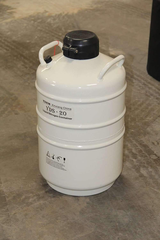 20 L Cryogenic Container Liquid Nitrogen Ln2 Tank with Straps and Carry Bag,,KeeboVet Veterinary Ultrasound Equipment,KeeboVet Veterinary Ultrasound Equipment.