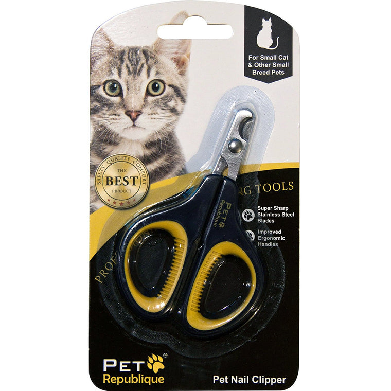 Pet Republique ® Professional Dog Nail Clippers with Optional Filer - Cat, Puppy, Small, Medium, & Large Dog, Large Bird Claws Nails Trimmer Tool - Protective Gurad & Safety Lock