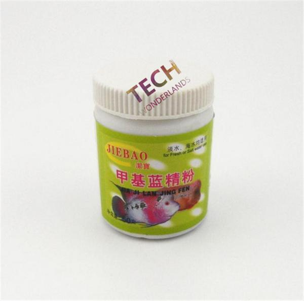 Aquarium Fish Medication Methyl blue powder 50g treat Unfinished gill anorexia and other diseases inflammation sterilization etc