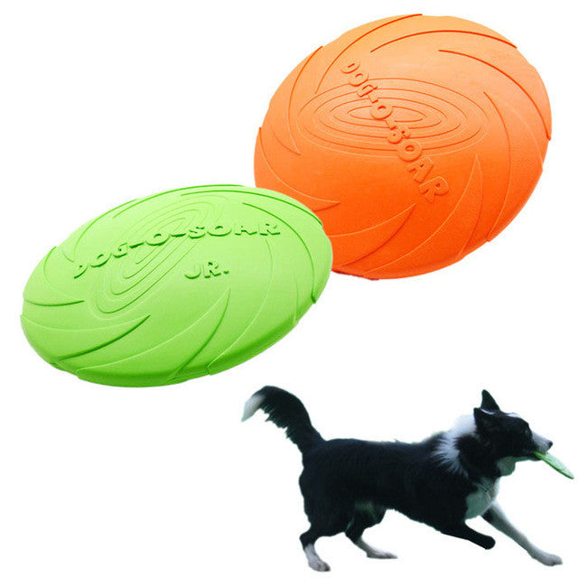 2016 New Pet Dogs toy Flying Disc Tooth Resistant Training Fetch Toy Play Frisbee products for dogs mascotas
