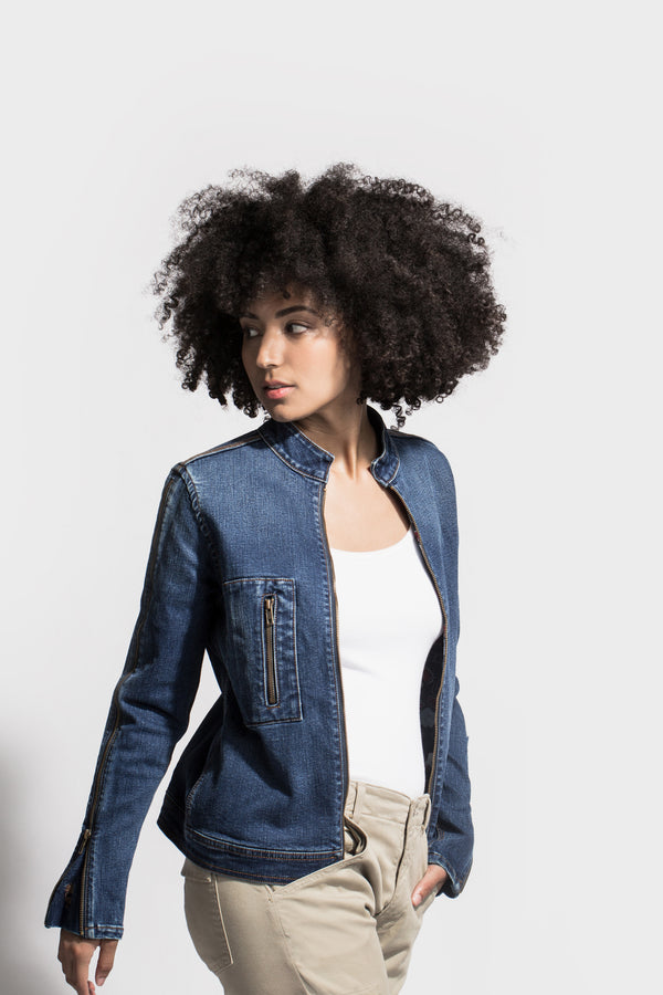 Denim Jacket made in Los Angeles - SAGJOL