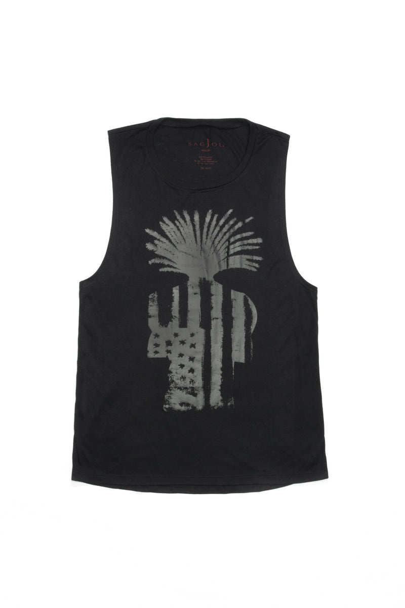 Muscle Tee - Black - Sagjol