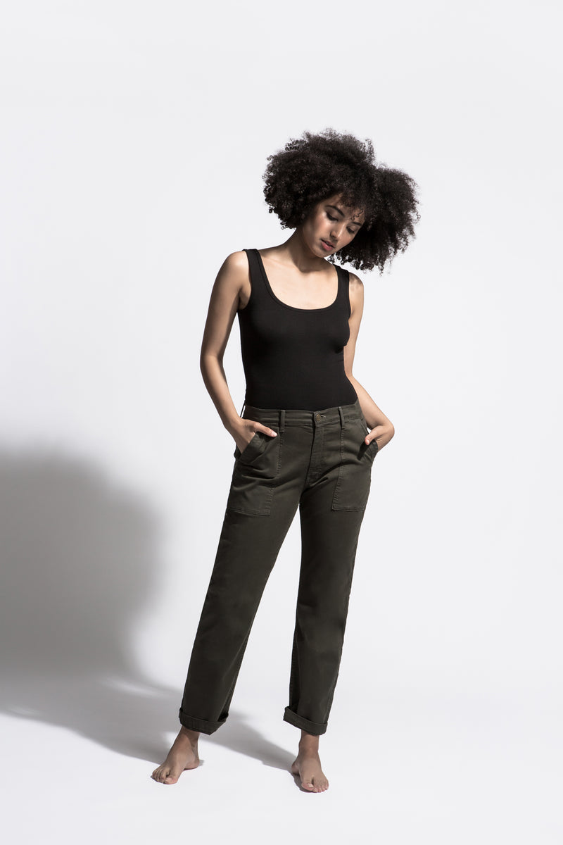 Carpenter Pant - Olive