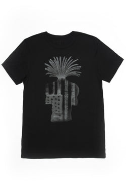Unisex Graphic Tee - Black - Sagjol