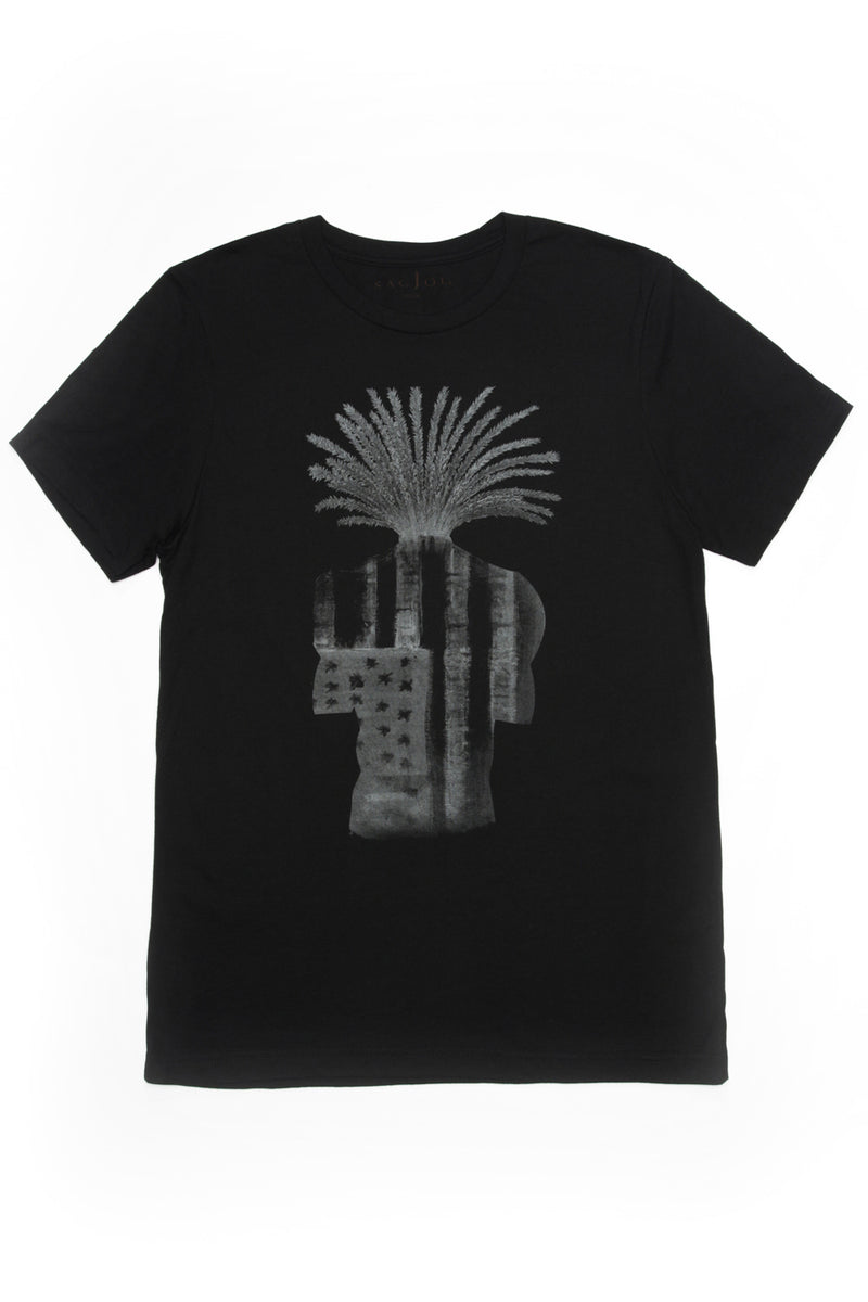 Graphic Tee - Black - Sagjol