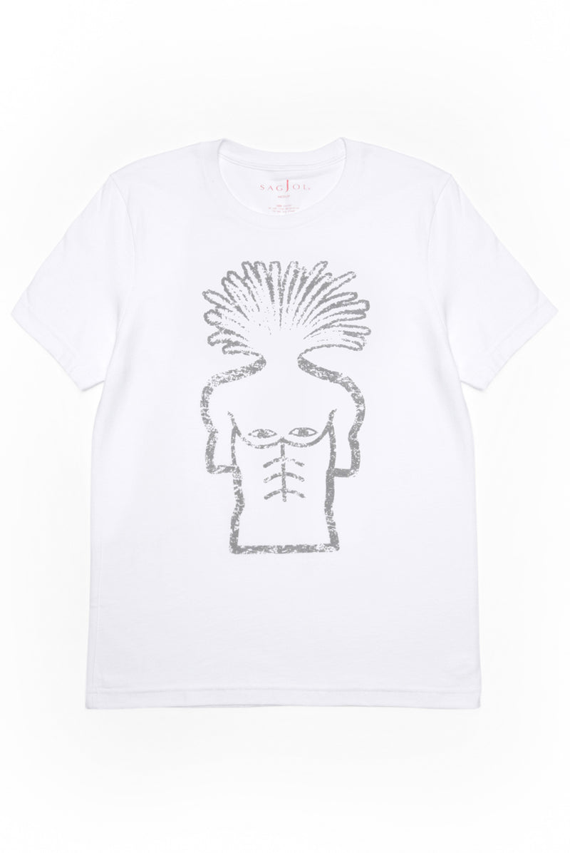 Mens Logo Tee - White