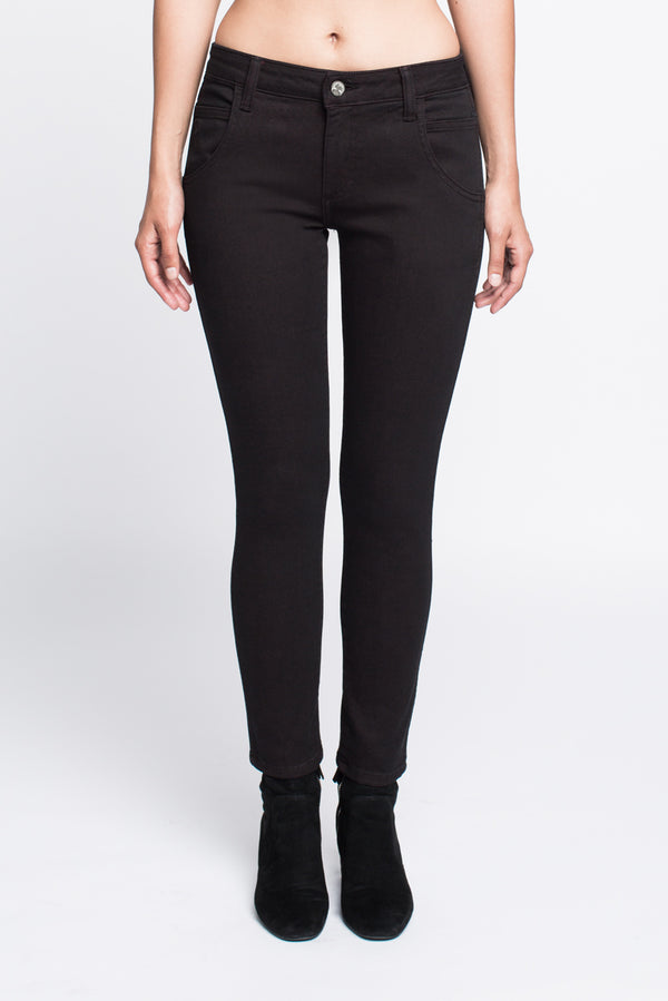 Skinny Jean in Black - Sagjol
