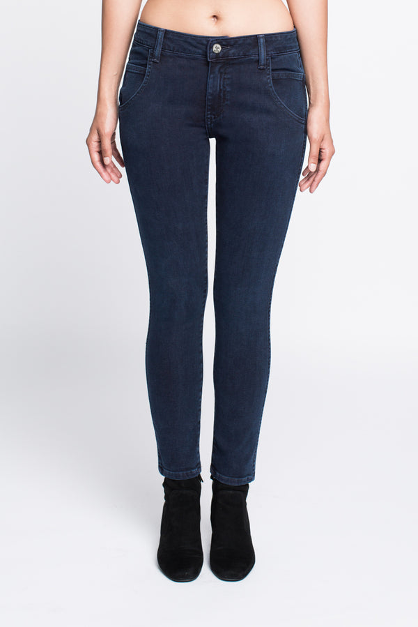 Skinny Jean in Prussian Blue
