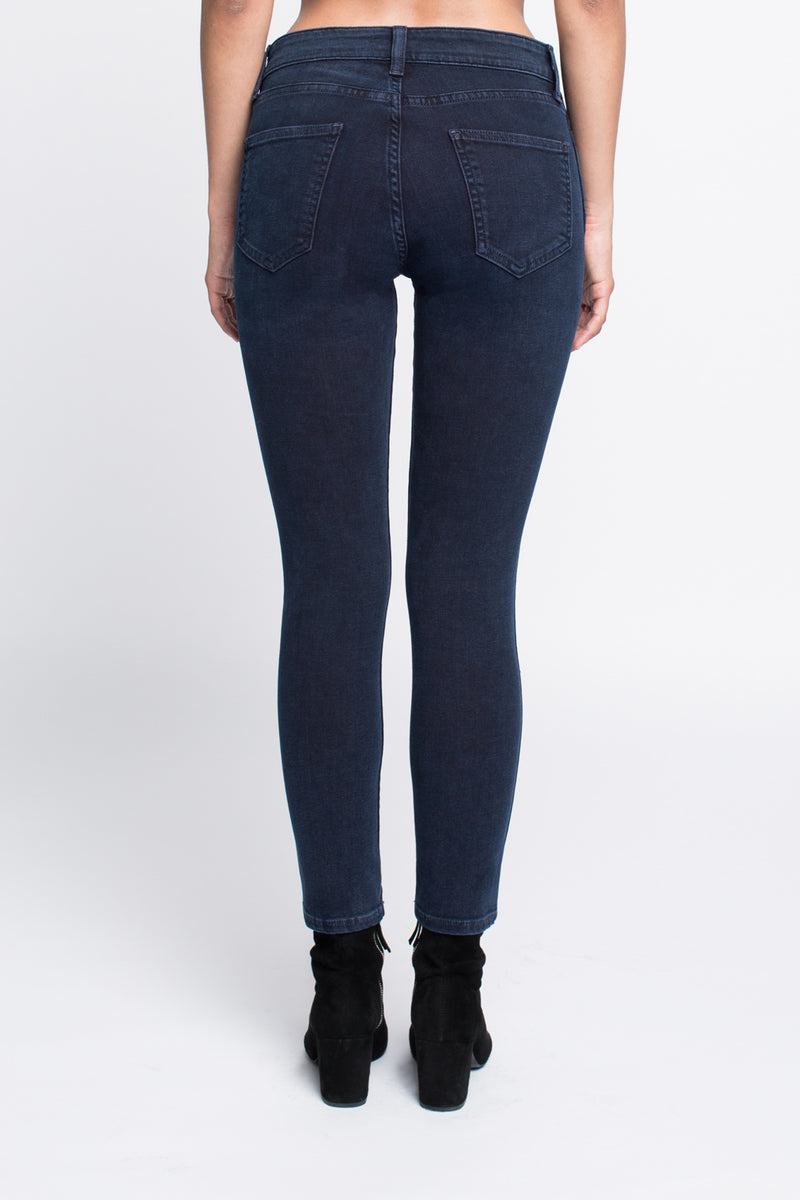 Skinny Jean in Prussian Blue - Sagjol