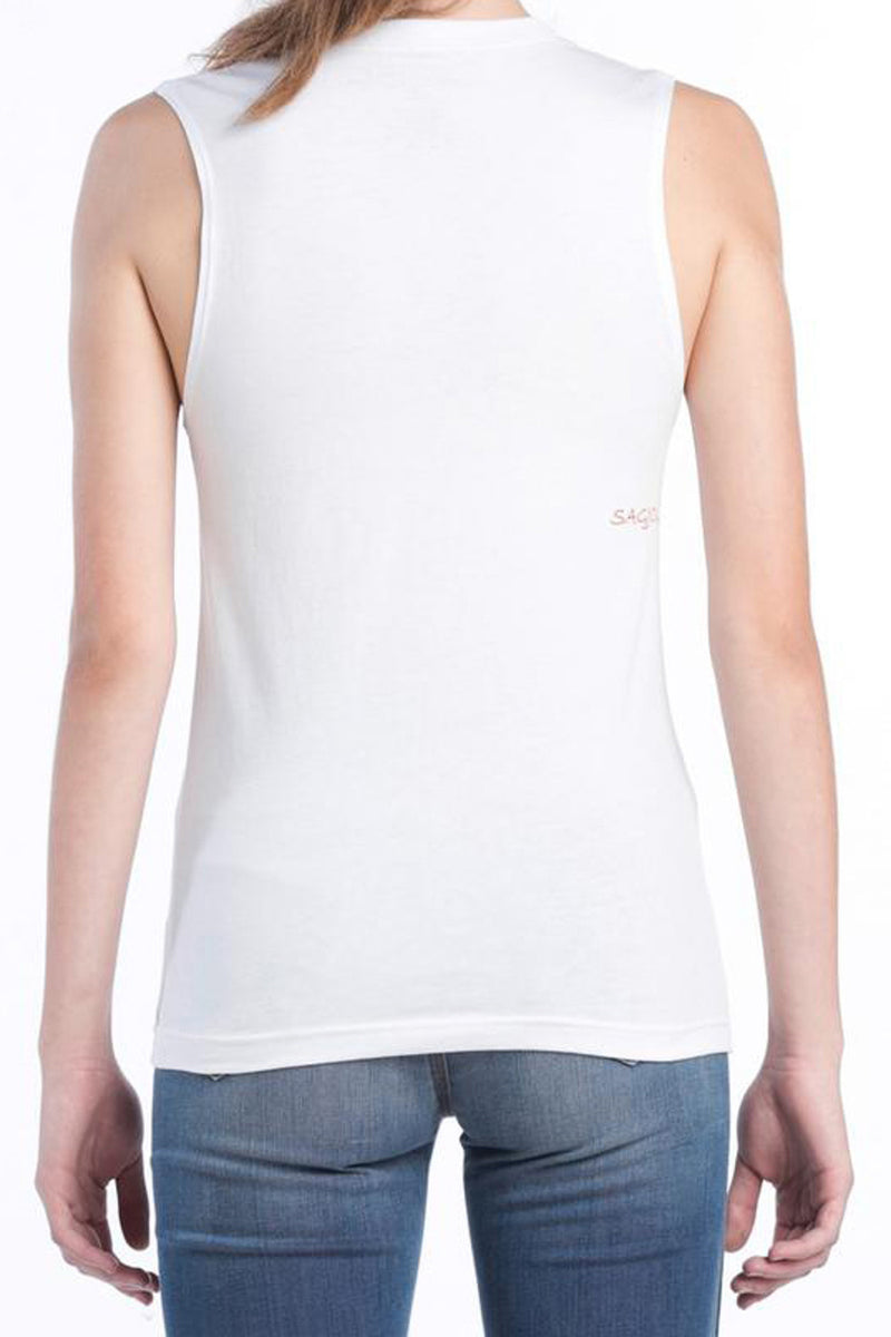 Sleeveless Tee - Sagjol