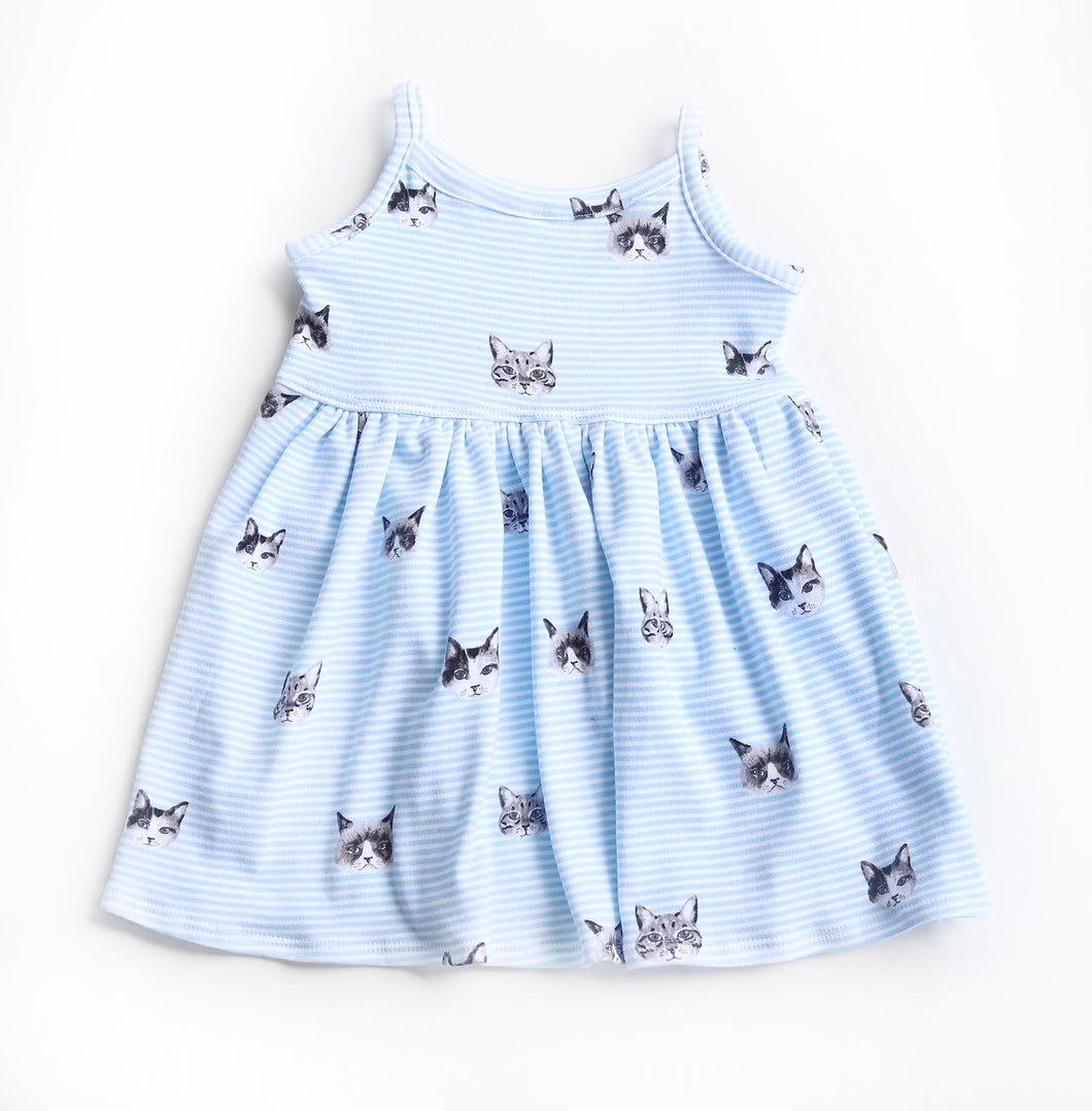Kitty Knit Tank Dress