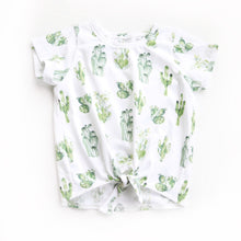 Load image into Gallery viewer, Cactus Tie Front Tee