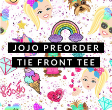 Load image into Gallery viewer, Jojo Tie Front Tee