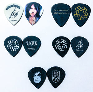 Jake Pitts Signature Guitar Pick Pack