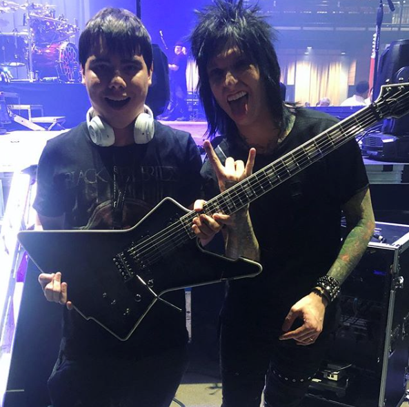 Jake Pitts Signature (EXCLUSIVE) Stage Played Guitar