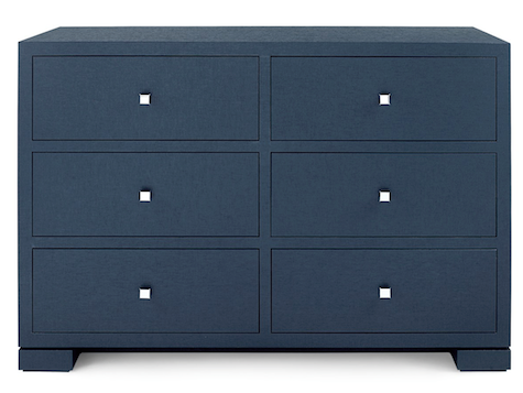 FRANCES 6 DRAWER DRESSER