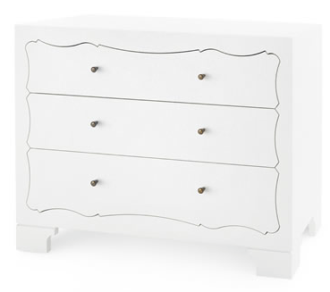 ISABELLA 3-DRAWER DRESSER