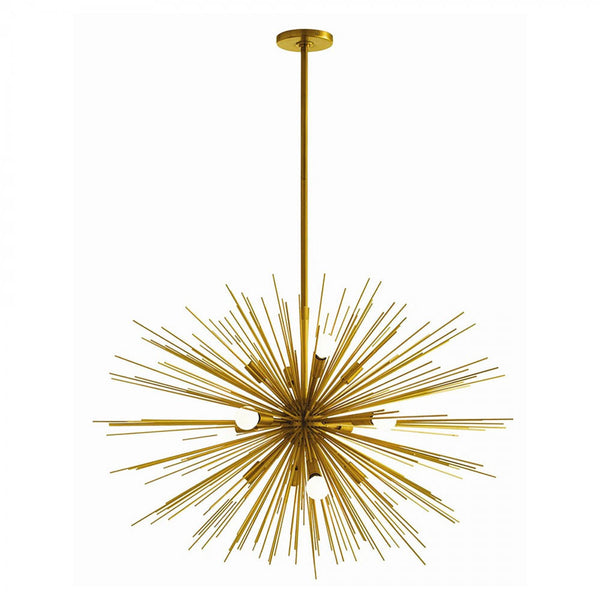 Large Zanadoo Chandelier in Brass from Maison Luxe