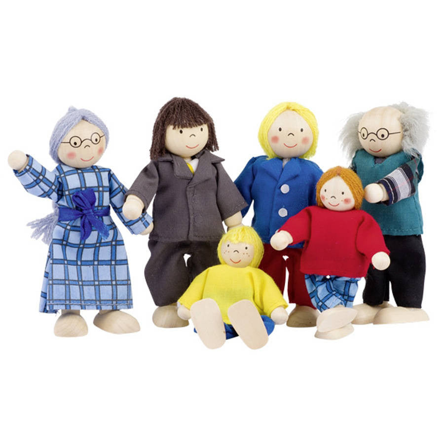 Doll Family - Hibba Toys of Leeds
