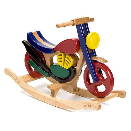 Mirage Wooden Rocking Bike - Hibba Toys of Leeds