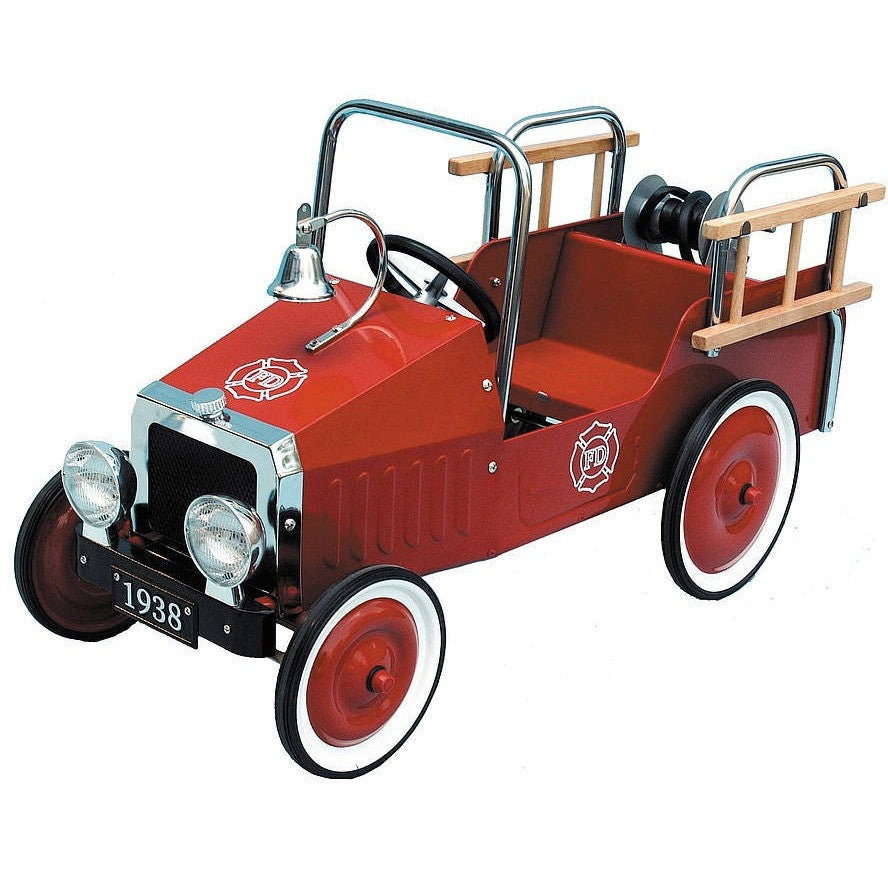 Pedal Car Fire Truck - Hibba Toys of Leeds