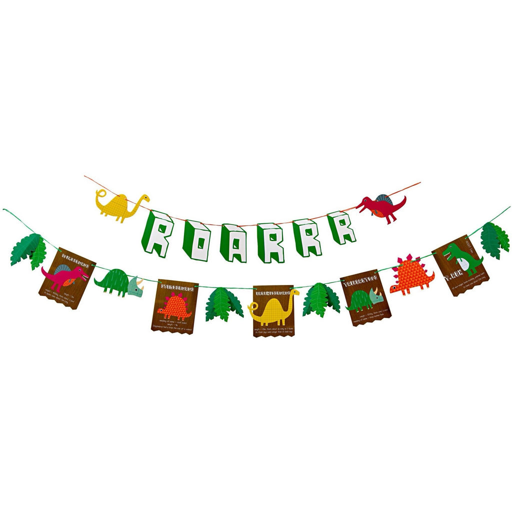 Dinosaur party garland - Great Little Party Company