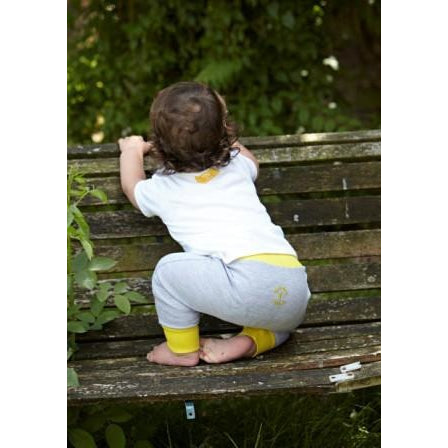 Banana Yellow Baby Harem Leggings - Tommy & Lottie