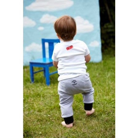 Boo Hoo Black Baby Harem Leggings - Tommy & Lottie