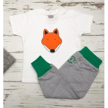 Fox T Shirt and Baby Harem Leggings Set - Tommy & Lottie