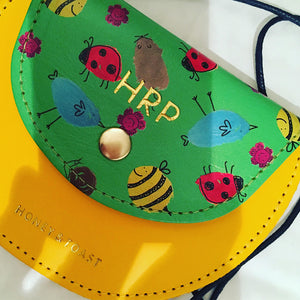 Space Pippin Purse - Honey & Toast