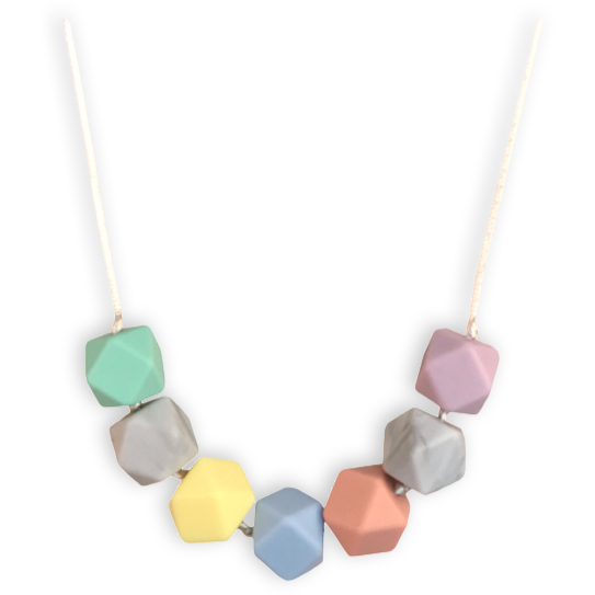 Isla Blossom Teething Necklace - Mama + Belle®