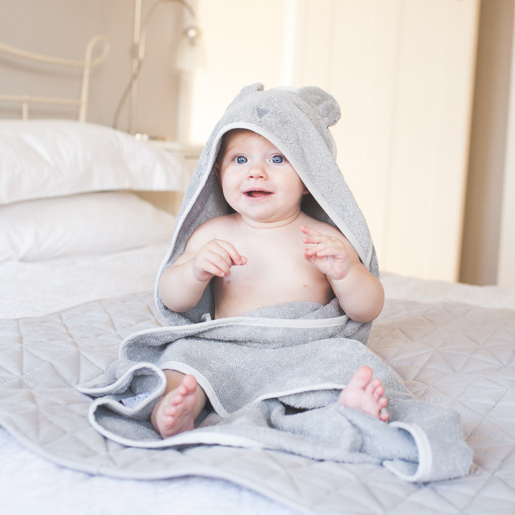 Beau Bunny hooded towel - 75cm x 75cm - Molly & Moo