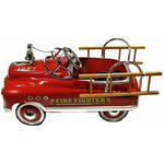Comet fire fighter with bell and ladders - Hibba Toys of Leeds