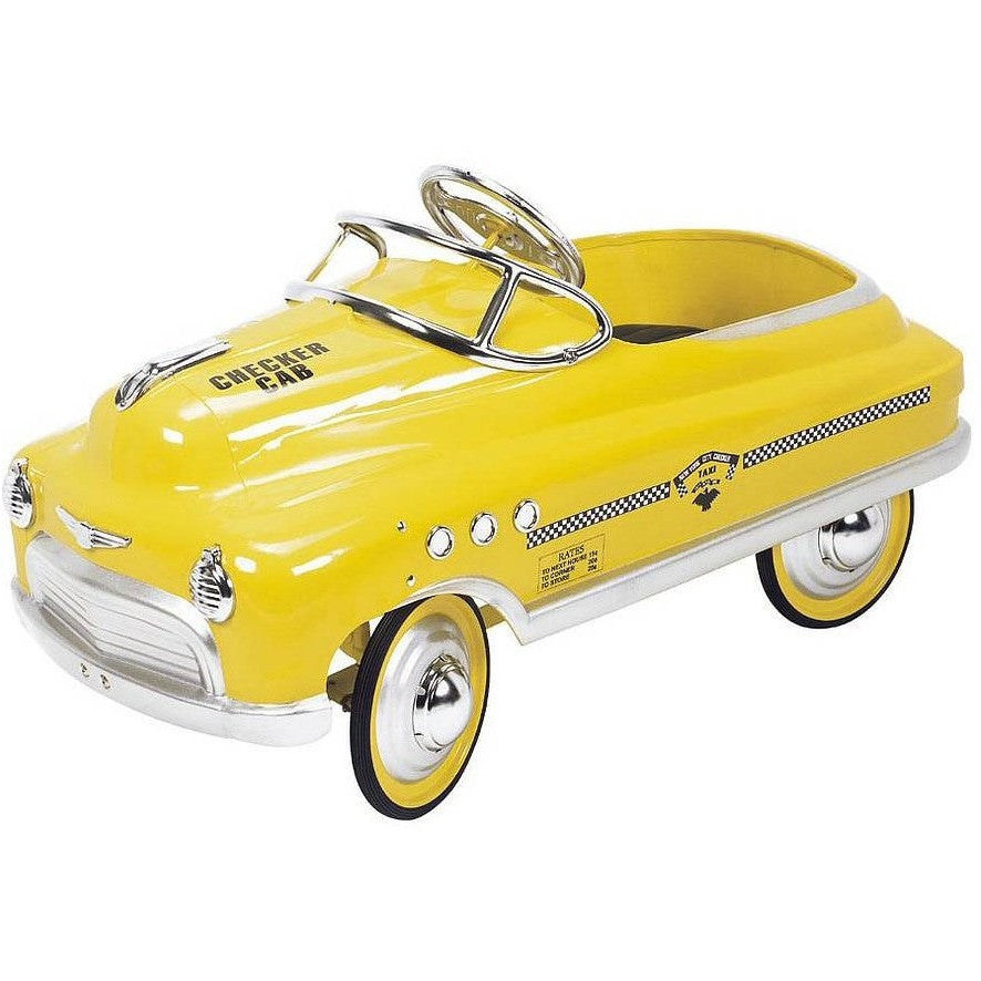 Comet New York taxi pedal car - Hibba Toys of Leeds