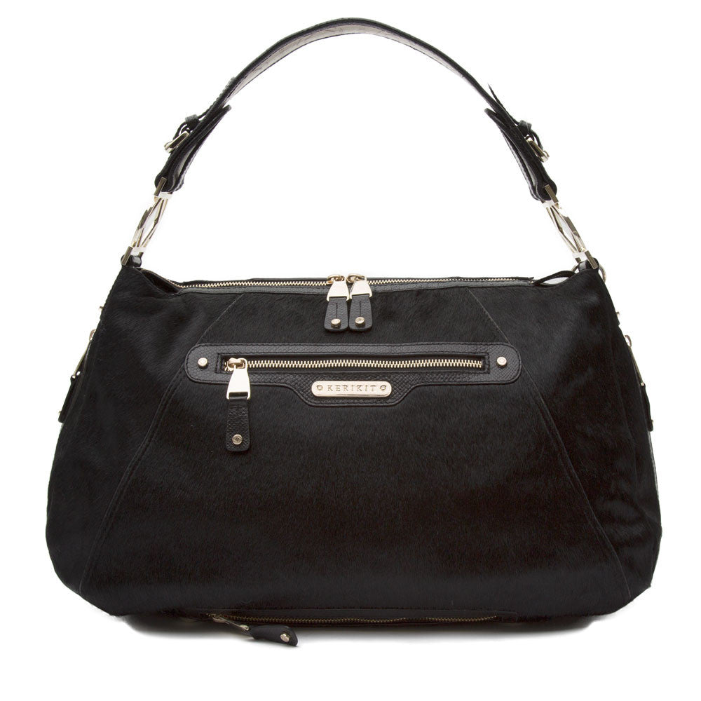 Charlie Italian Leather Baby Changing Bag - Kerikit - ON SALE HALF PRICE!