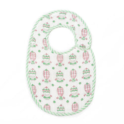 Balloons & Stars bib in pink - Hullabaloo Prints