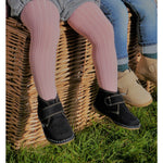 Angelitos Velcro Desert Boots - Navy - Willabeans Shoes