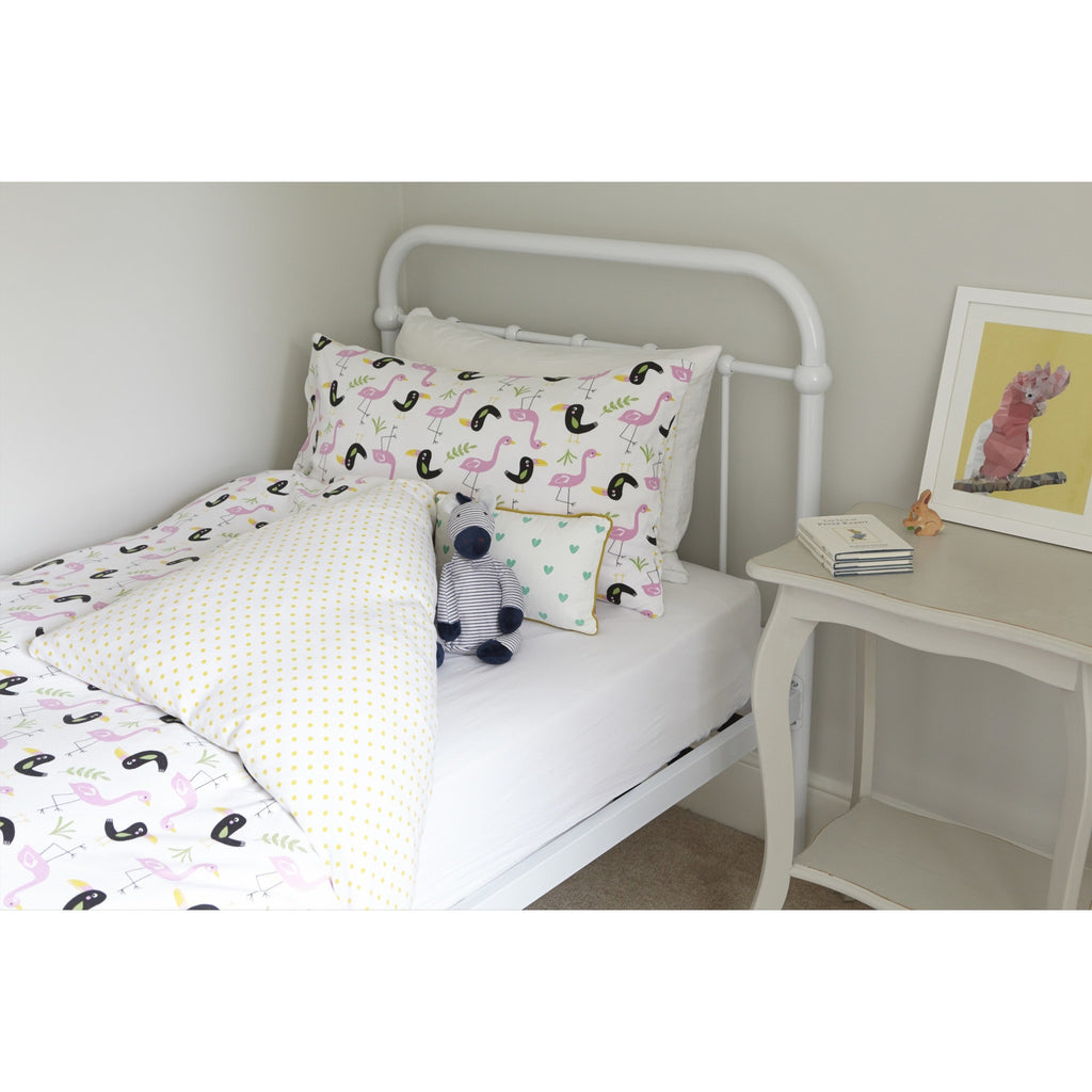 Flamingo & Toucan Children's Bedding set - Panda & Ping