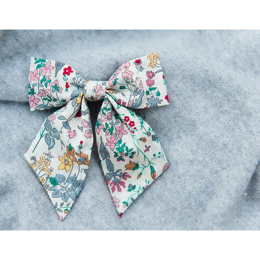 Liberty of London Hair Bow - Field Flowers - Matilda & Grace