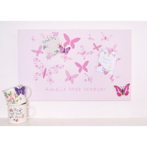 Butterfly Magnetic Noticeboard - The Magnetic Noticeboard Company