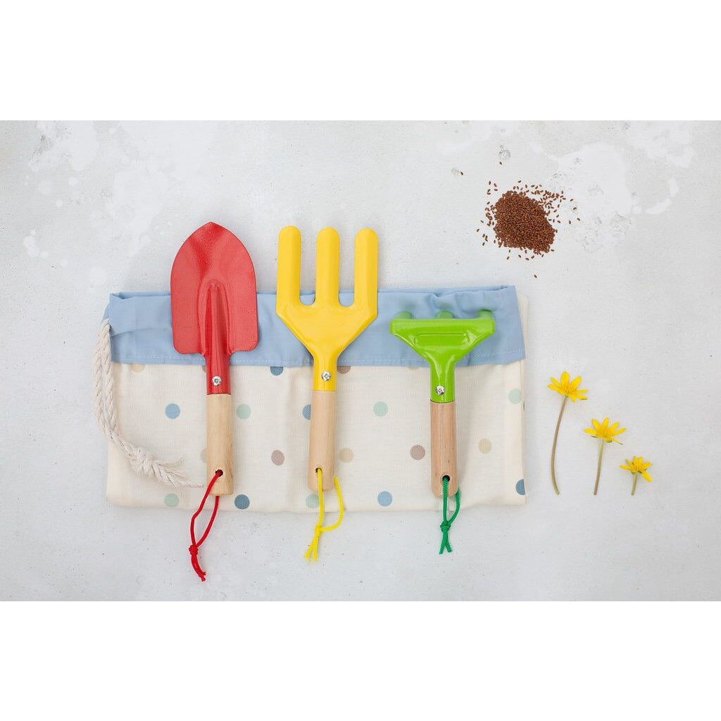 Children's Gardening Set with Drawstring Bag - Launcey Boo