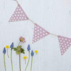 Wooden Bunting - Launcey Boo