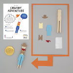 Make Your Own Cowboy Peg Doll Kit - Cotton Twist