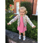 Olivia Cool Cotton Bomber Jacket - JABAKids