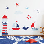 Ahoy Matey Wall Stickers - Nutmeg Studio