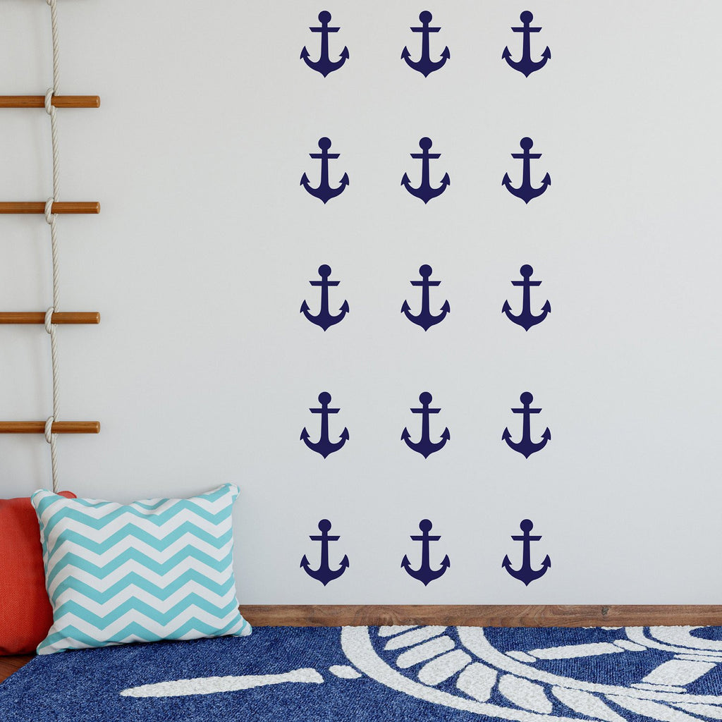 Anchors Wall Stickers - Nutmeg Studio