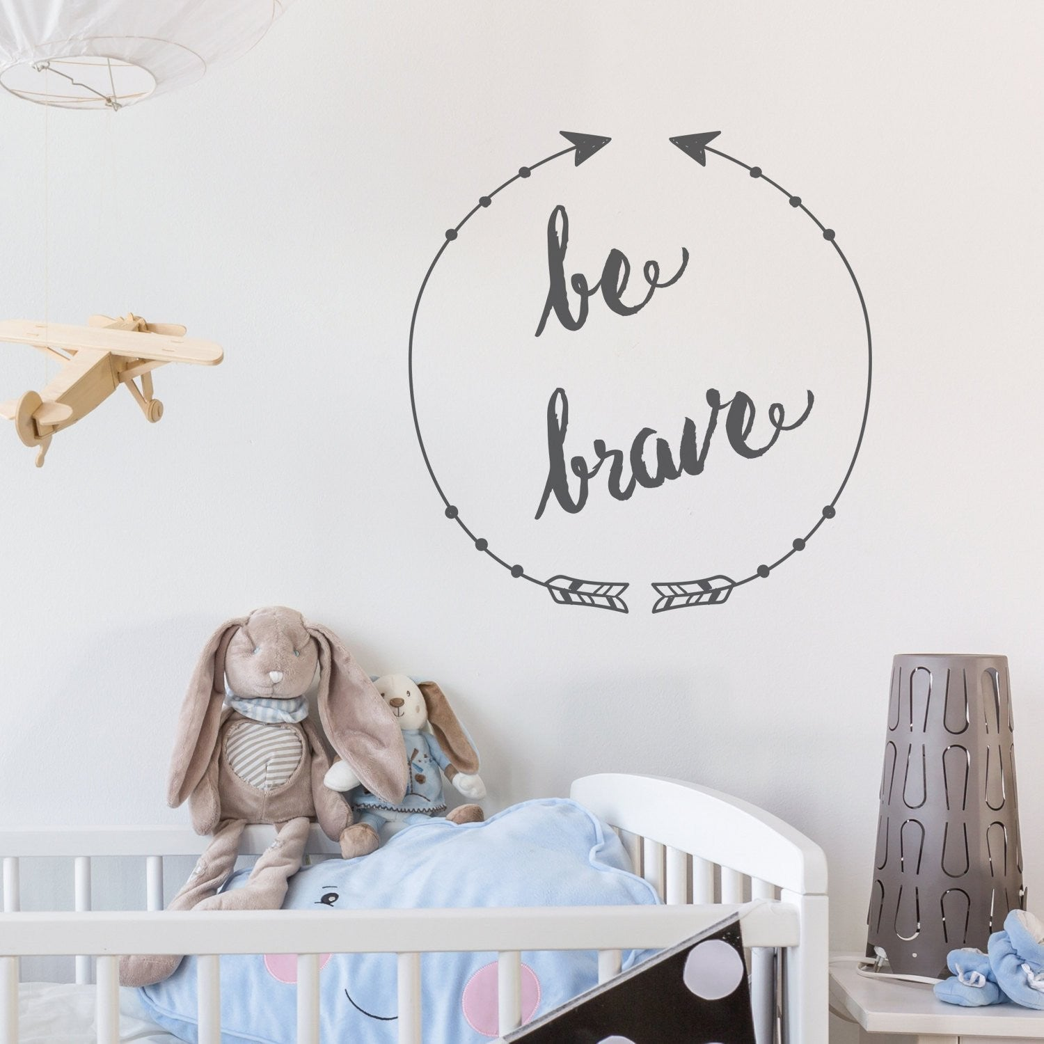 Be Brave Wall Sticker - Nutmeg Studio