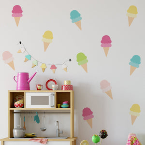 Ice Cream Wall Sticker - Nutmeg Studio